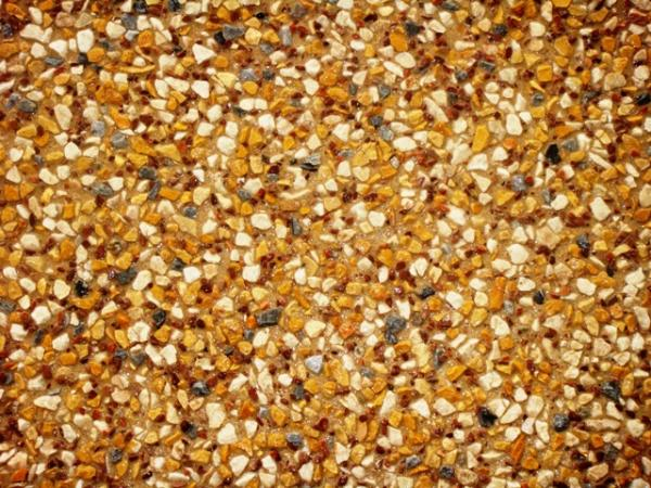 exposed aggregate or pebble