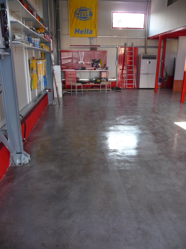 industrial floors
